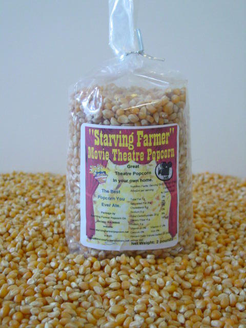 2 - 2 pound bags of Movie Theatre Popcorn